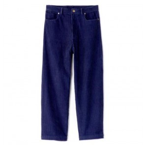 Vintage High Rise Pants Teese Navy