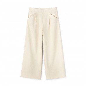 Wide Leg Pants Tricky Off White