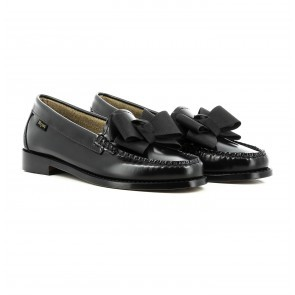 Weejuns Penny Loafer Lilian Bow Black