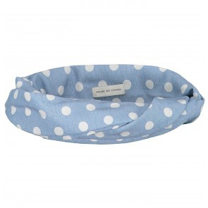 Bandeau Georgie Dots Blue