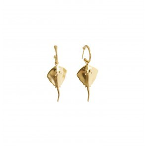Earring Ray Gold