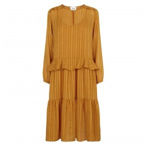 Midi Dress Honey Blazing Orange