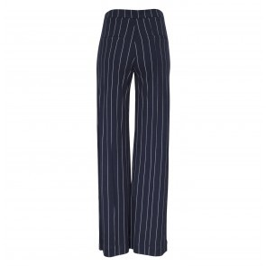 Pants Justine Navy Cream Pinstripe