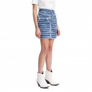 High Rise Skirt LMC Saddle Up