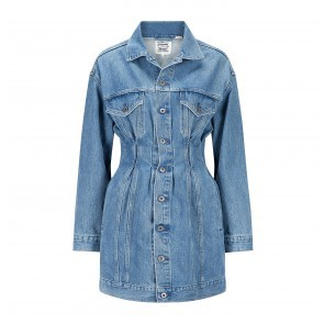 Trucker Dress LMC Denim