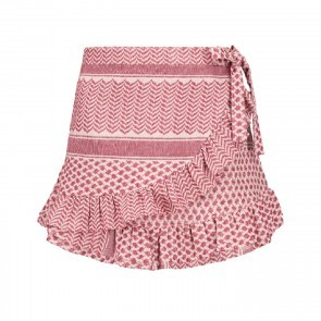 Skirt Sadie Red Pink