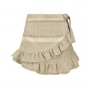 Skirt Sadie White Beige