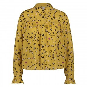 Blouse Leopard Amber Gold