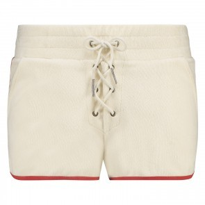 Short French Terry Dove White