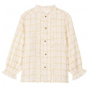 Shirt Cathie Check Off White