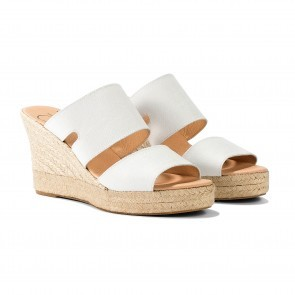 Espadrille Eva Maria Lopez White - PRE-ORDER end of MAY
