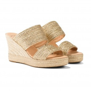 Espadrille Helen Dzo Dzo Gold - PRE-ORDER 3rd week of JUNE