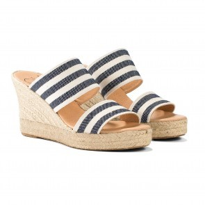 Espadrille Helen Dzo Dzo Navy White Stripes - PRE-ORDER end of MAY