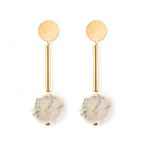 Earrings Alizé 3 White