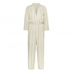 Jumpsuit Silverly White/Blue Stripe