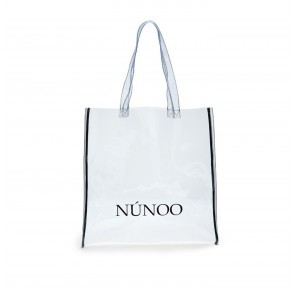 Large Tote Bag Transparent Colorless