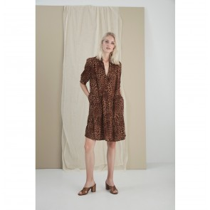 Dress Jane Brown Leo