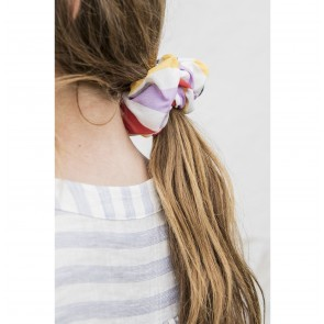 Scrunchie Jackie Multi Color Stripes