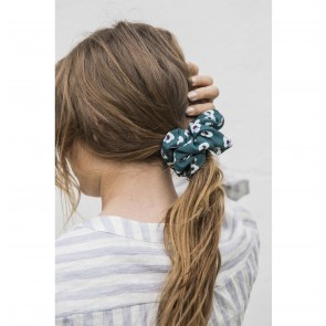 Scrunchie Jackie Green Flower