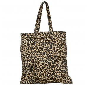 Large Tote Dustbag Leopard