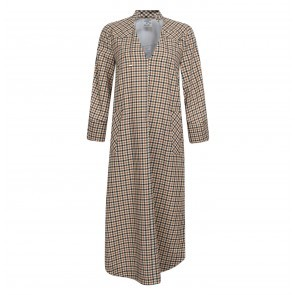 Dress Adwoa Brown Check