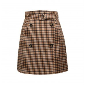 Skirt Stacia Nougat Check