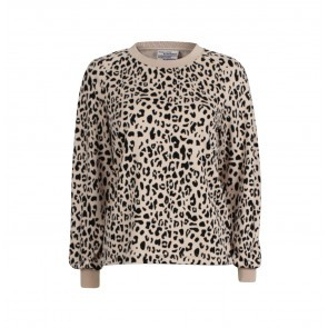 Sweater Juliet SmokeBlack Leopard