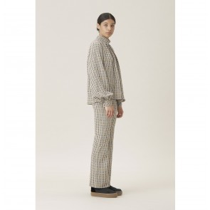 Trouser Chandler Gingham Orange