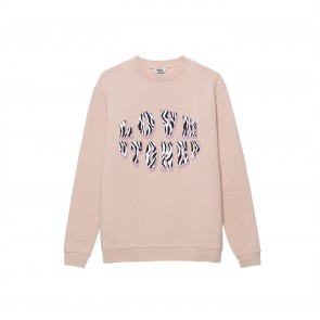 Sweater Love Stoner Off Pink