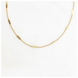 Necklace Signet Chain Gold