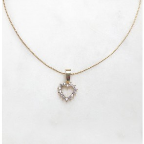 Necklace Bright Heart Gold