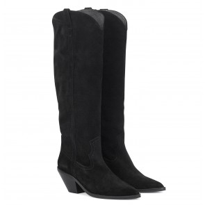 Arizona Boot Suede Black