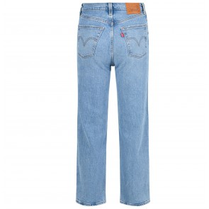 Jeans Ribcage Straight Ankle Tango Fade