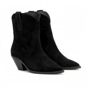 Sloane Boot Suede Black