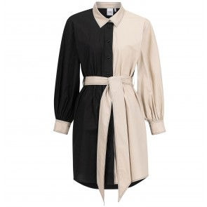 Dress Canal St. Martin - Black/Beige