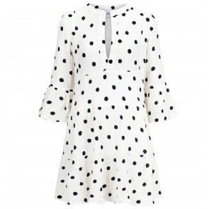 Dress Topaz Black Dot
