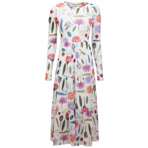 Dress Jocelina White Hampton