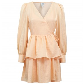 Dress Akeisha Apricot Sherbet