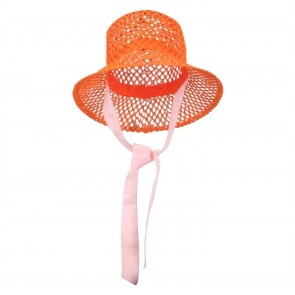 Hat Liza Vermillion Orange