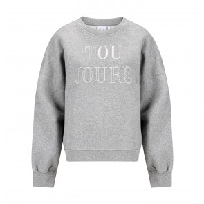 Sweater Rue De Buci Grey Print