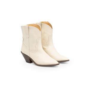 Sloane Boot White Shell