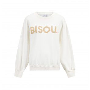 Sweater Rue de Buci White Bisou