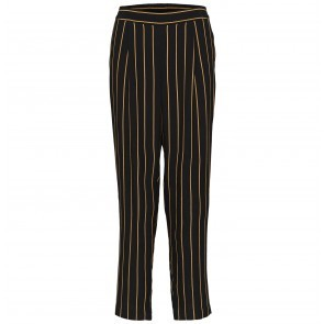 Ankle Pant Black/Doe Stripe