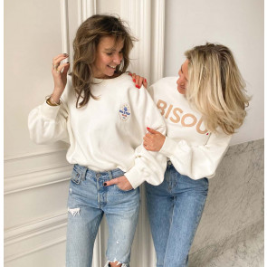 Sweater Rue de Buci White Oyster