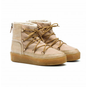 Boot Oslo Latte Croco