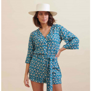 Playsuit Juniper Camel Shell Marine