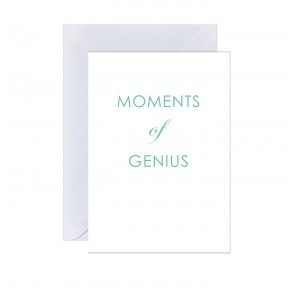 Card Moments Of Genius