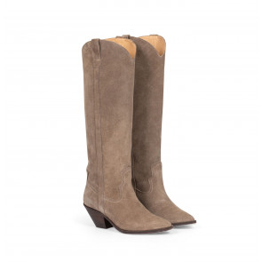 Arizona Boot Suede Taupe