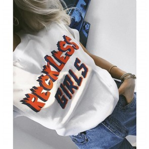 Tee Reckless Girls White