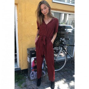 Jumpsuit Anja Russet Red